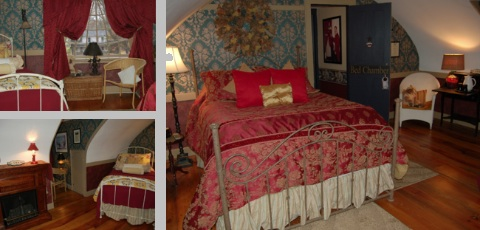 Lafayette Room at the InnKeepersPlace.com Bed & Breakfast Stafford Springs Connecticut